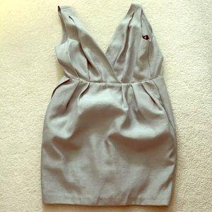 New HM grey metallic dress.  Size 8